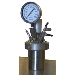 Parr 1 Liter Stainless Steel Reactor 1900 PSI